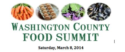 Washington County Food Summit Announcement