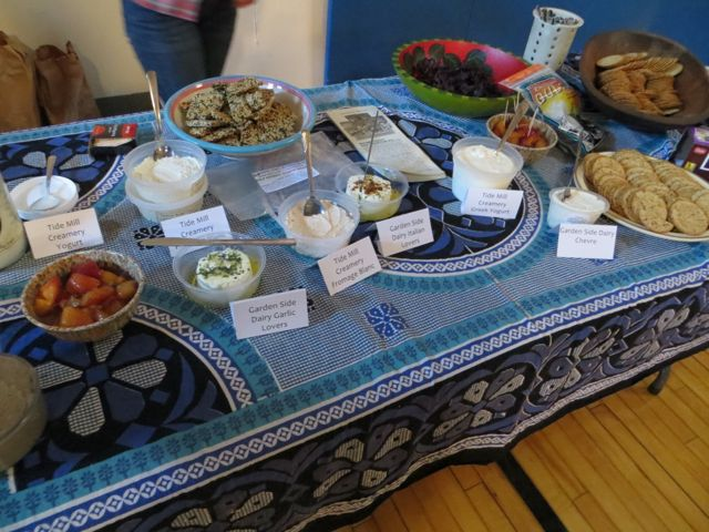 Local Food Sample Table